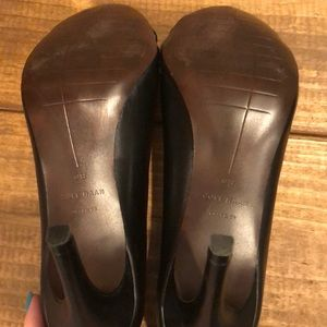 Cole Haan Shoes - Cole Hann Opened Toe Black Pumps